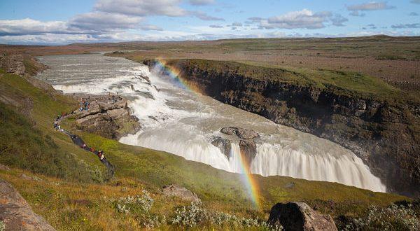 Cascada Gullfoss - Islandia