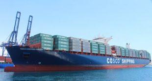 Cosco Shipping Panamá cruza por el Canal de Panamá