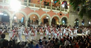 Fiesta mundial del folclore en Mérida_2