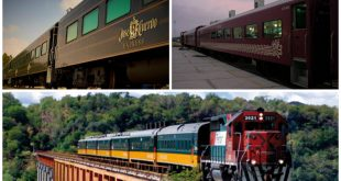 Rutas turísticas en trenes mexicanos