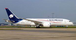 Avion de Aeroméxico