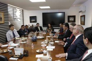 Reunión del Secretario de Turismo Enrique de la Madrid Cordero, y el Consejo Nacional Empresarial Turístico (CNET)