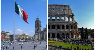Roma Italia y la Ciudad de México