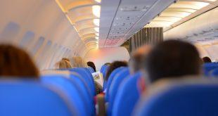 Volando en avión