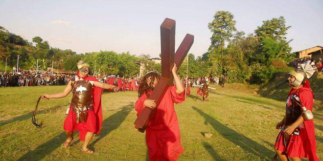 Celebración de Semana Santa en la ciudad de Lamas