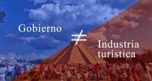El crecimiento de la industria turística en México NO es gracias al gobierno