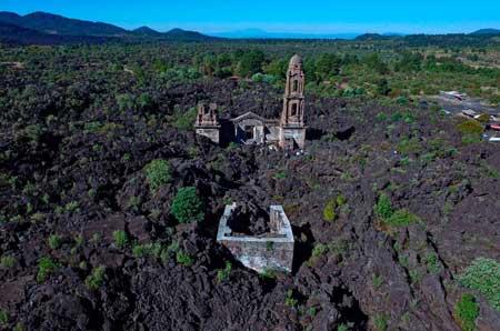 Volcán-Paricutín,-Michoacán
