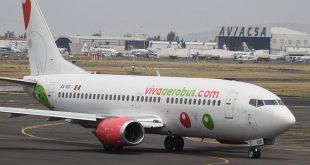 Avión de Vivaaerobus