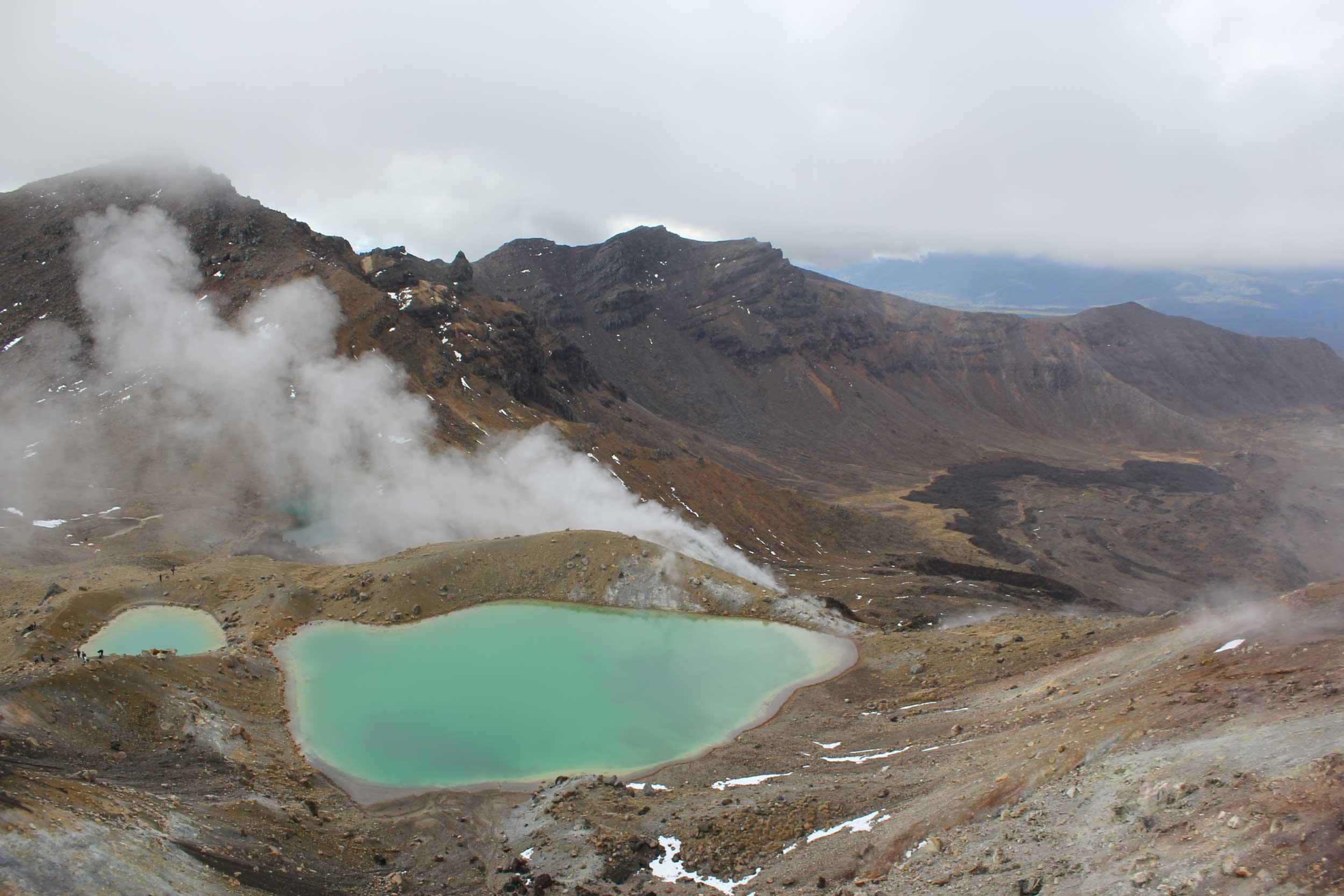 Geiseres Parque Nacional Tongariro