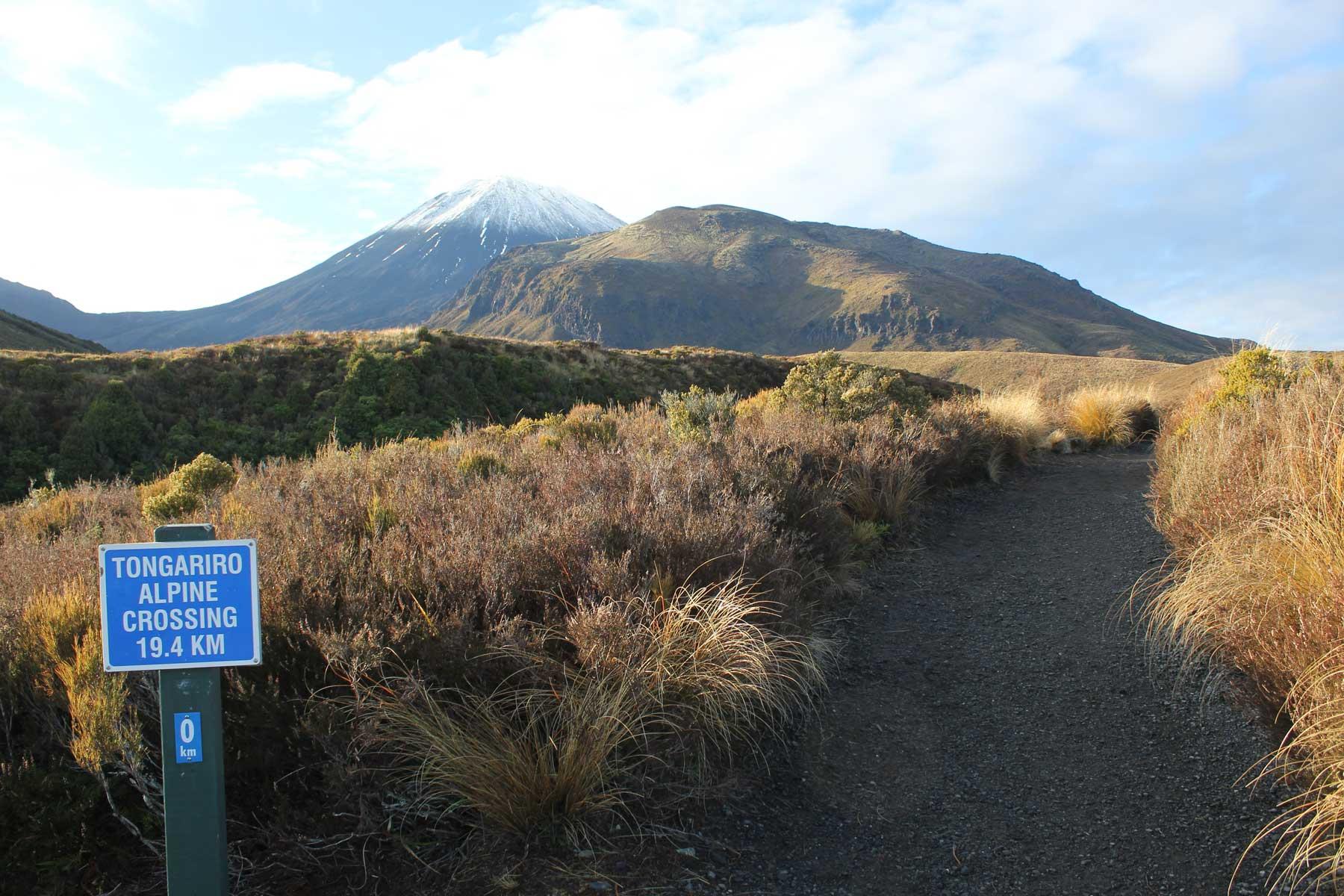 Inicio-Trekking Parque Nacional Tongariro