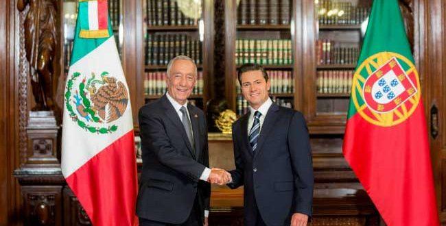 Presidentes-de-México-y-Portugal