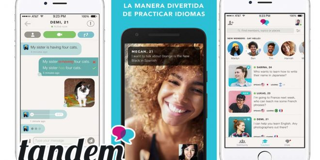 Aplicacion-Tandem-para-aprender-idiomas