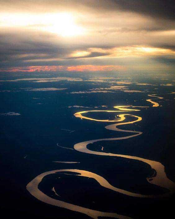 La grandeza y majestuosidad del Río Amazonas