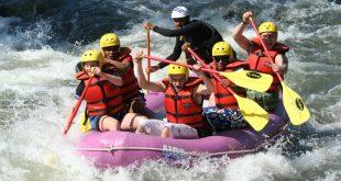Practicando descenso en ríos