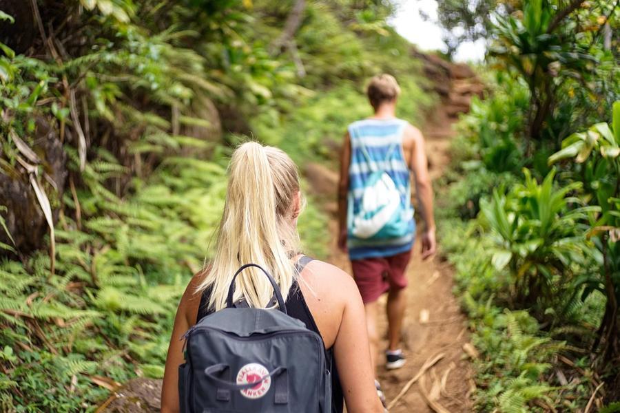 Caminata, actividad del turismo de aventura