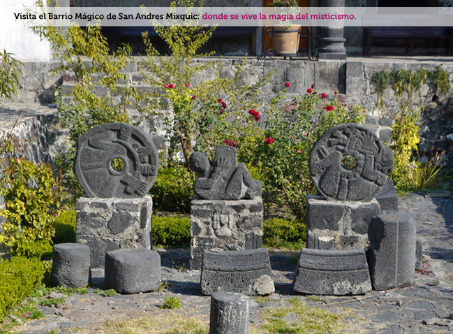 Vestigios arqueológicos en San Andrés Mixquic, Tláhuac, Ciudad de México