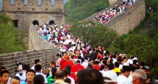 capacidad de carga turistica en la muralla china
