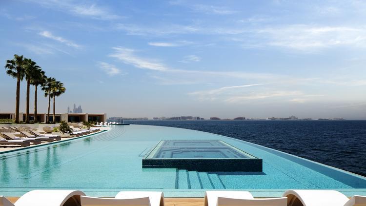 Piscina de la nueva terraza del hotel Burj Al Arab