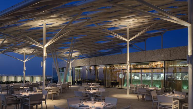 Restaurante de la nueva terraza del hotel Burj Al Arab
