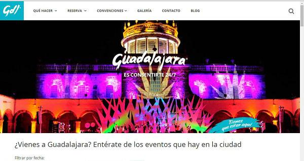 Sitio web gdlmidestino
