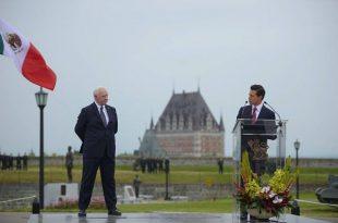 Visita de Estado de Peña Nieto a Canadá (en Quebec)