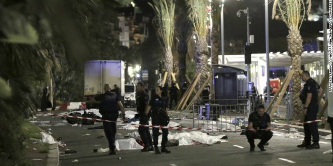 Atentado terrorista en Niza Francia