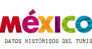 Datos historicos del turismo en México