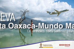 Nueva ruta Aeromar, Mundo Maya y Oaxaca