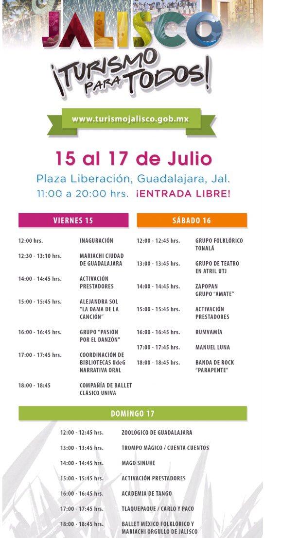 Programa Feria de Turismo para Todos 2016 Guadalajara