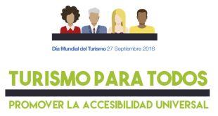 Turismo para todos, lema del día mundial del turismo 2016