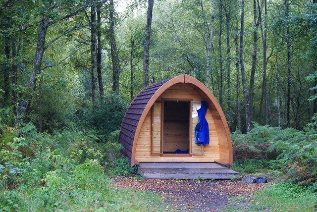 Camping Pod at Low Wray Campsite, Cumbria