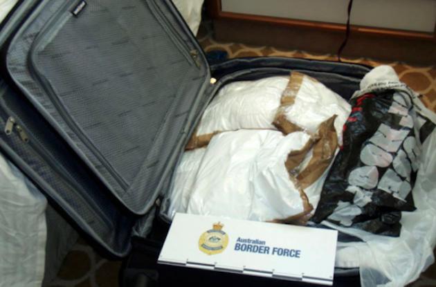 Cocaina decomisada en Australia