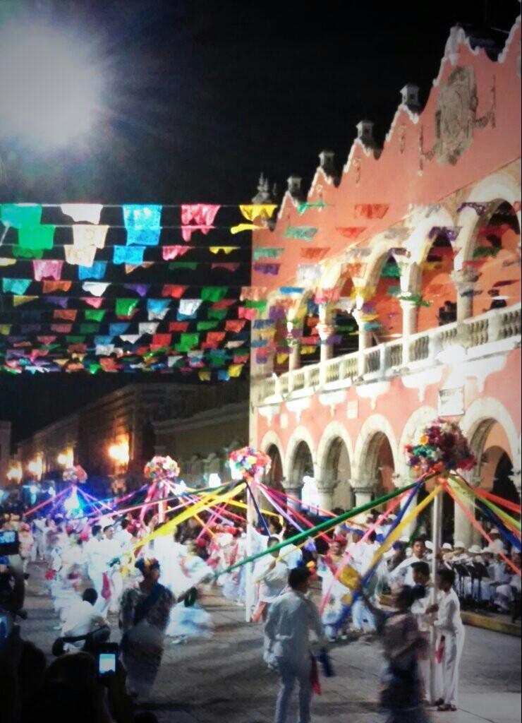 Fiesta mundial del folclore en Mérida_1