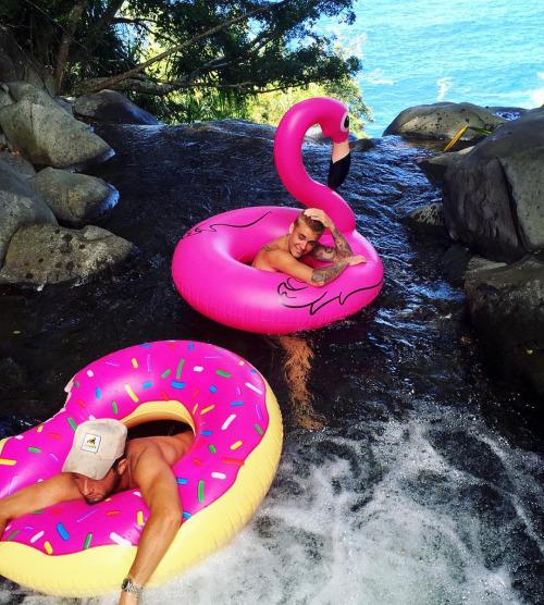 Justin bibier en Hawai