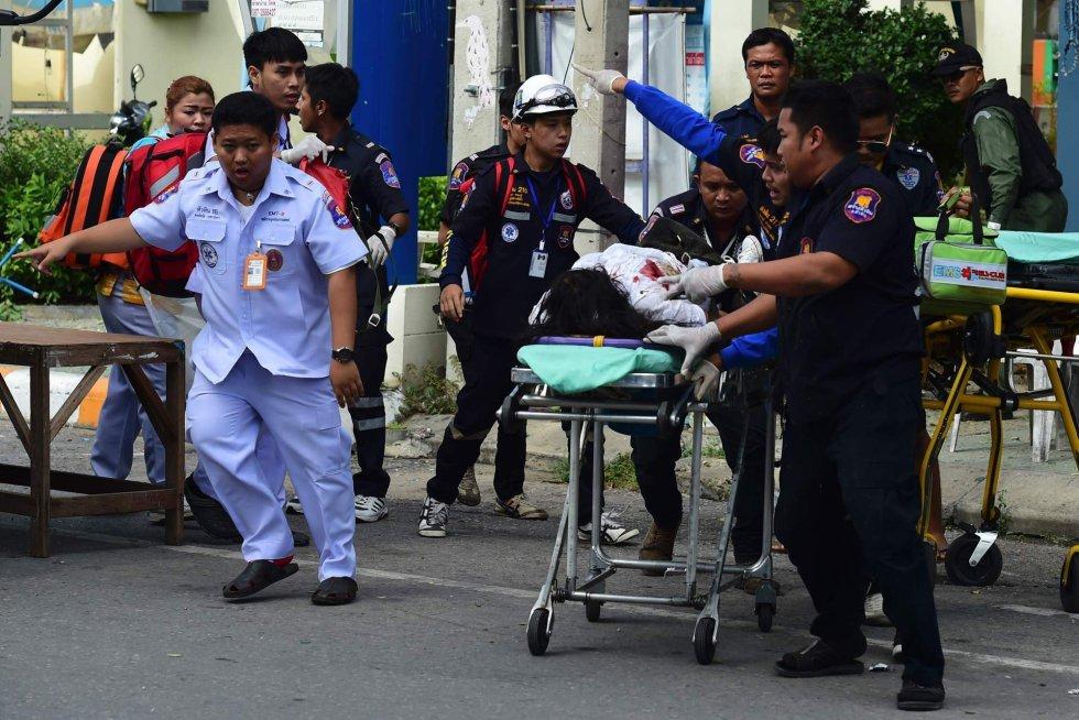heridos tras explosiones en tailandia
