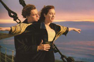 Jack y Rose en el Titanic
