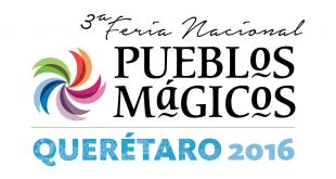 Logo de la Feria Nacional de Pueblos Mágicos en Querétaro