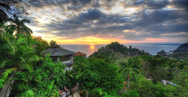 Paisaje en Costa Rica