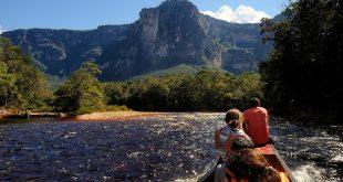 Salto Ángel en el Parque Nacional Canaima