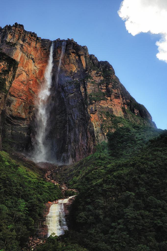 Salto Ángel en el Parque Nacional Canaima_2
