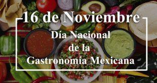 Día Nacional de la Gastronomía Mexicana