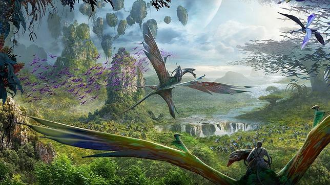 parque-tematico-avatar-flight-of-passage