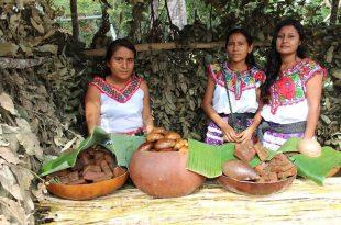 Mujeres en una comunidad que recibe turismo rural
