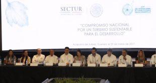 Autoridades de México firman el Compromiso por el Turismo Sustentable para el Desarrollo