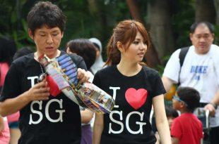 Turistas-en-Singapur