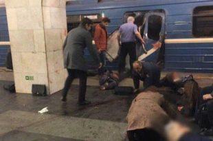 Explosiones en el metro de San Petersburgo