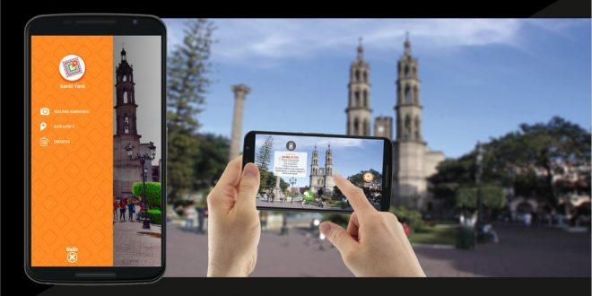 App de realidad aumentada en Nayarit