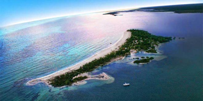Isla-Pasión-en-Cozumel,-México