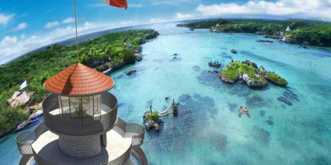 faro-mirador-en-el-parque-natural-Xel-Há-de-la-Riviera-Maya