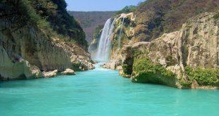 Cascada de Tamul en SLP